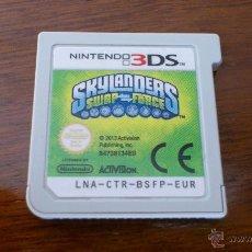 Videojuegos y Consolas: NINTENDO - 3DS - SKYLANDERS SWAP FORCE - JUEGO - 2013 - ORIGINAL- COMO NUEVO. Lote 41265218