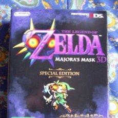 Videojuegos y Consolas: ZELDA MAJORA'S MASK EDICION ESPECIAL - 3DS - EDICION ESPAÑA - NUEVO PRECINTADO. Lote 47762939
