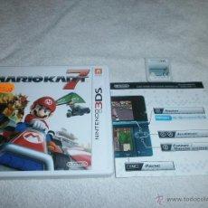 Videojuegos y Consolas: MARIO KART 7 NINTENDO 3DS COMPLETO Y EN ESPAÑOL. Lote 143272974