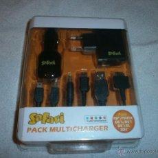 Videojuegos y Consolas: SAFARI PACK MULTICHARGER (PSP, PSVITA, NINTENDO DS, DSI Y 3DS) NUEVO Y PRECINTADO. Lote 109620050