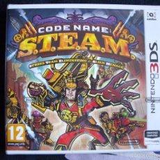 Videojuegos y Consolas: NINTENDO 3DS - CODE NAME S.T.E.A.M. - NUEVO - PRECINTADO EDICIÓN ESPAÑA. Lote 57412701