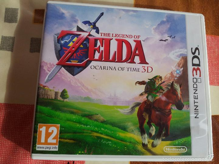 Juego Nintendo Nds 3d The Legend Of Zelda Oca Comprar