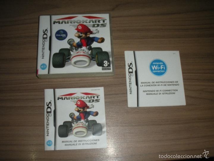 Mario Kart Ds Caja Y Manual Del Juego Nintendo Buy Video Games And