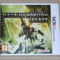 Videojuegos y Consolas: ACE COMBAT: ASSAULT HORIZON LEGACY, PRECINTADO PAL ESP -3DS-. Lote 59826268