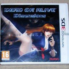 Videojuegos y Consolas: DEAD OR ALIVE DIMENSIONS, PRECINTADO PAL ESP -3DS-. Lote 59826340