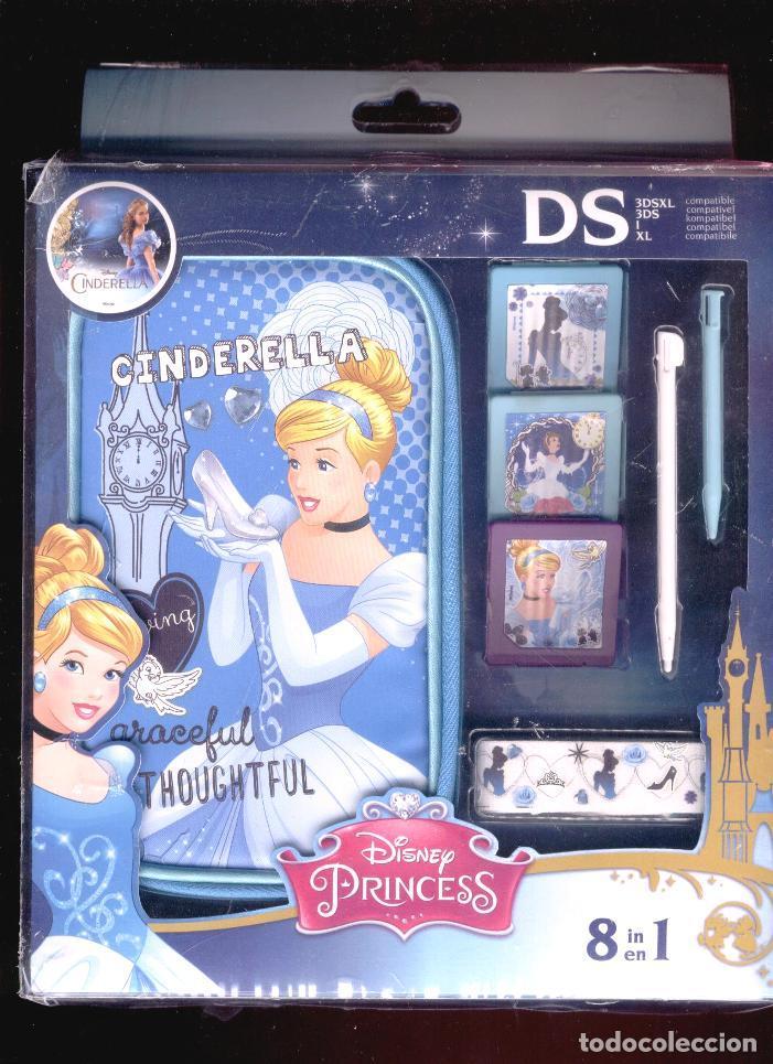 KIT DE ACCESORIOS PARA NINTENDO 3DS * CINDERELLA * CENICIENTA * PRINCESAS DISNEY (Juguetes - Videojuegos y Consolas - Nintendo - 3DS)