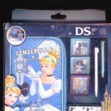 Videojuegos y Consolas: KIT DE ACCESORIOS PARA NINTENDO 3DS * CINDERELLA * CENICIENTA * PRINCESAS DISNEY. Lote 62080036