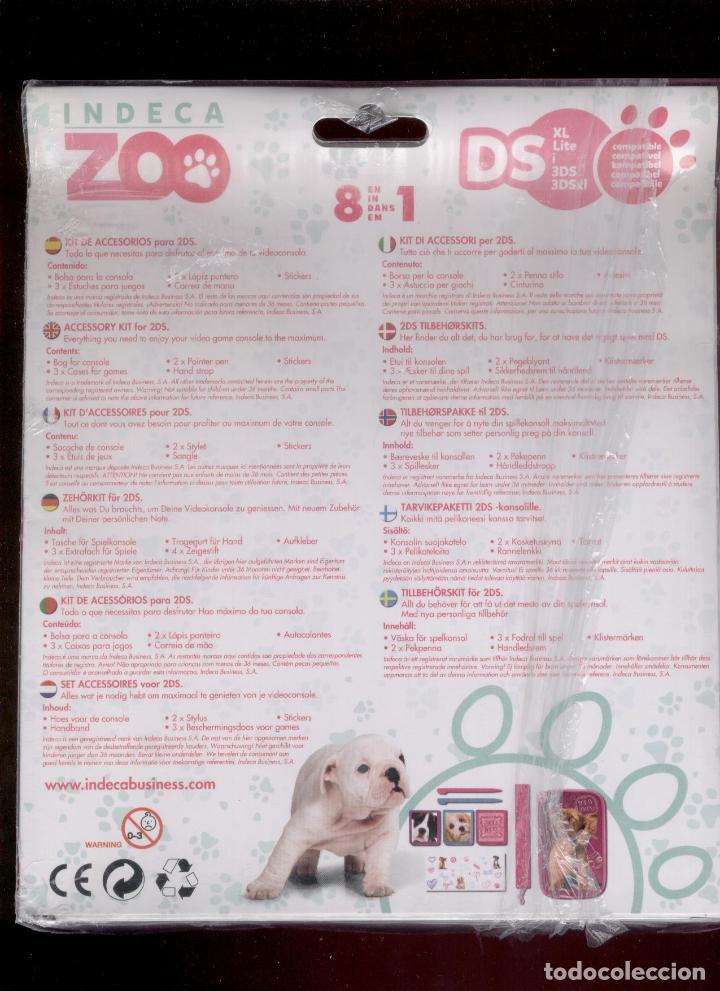 Videojuegos y Consolas: KIT DE ACCESORIOS PARA NINTENDO 3DS * INDECA ZOO * BEAUTY SALON - Foto 2 - 181734246