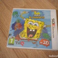 Videojuegos y Consolas: NINTENDO 3DS JUEGO BOB ESPONJA EL GARABATO NUEVO VERSIÓN ESPAÑOLA. Lote 64115767