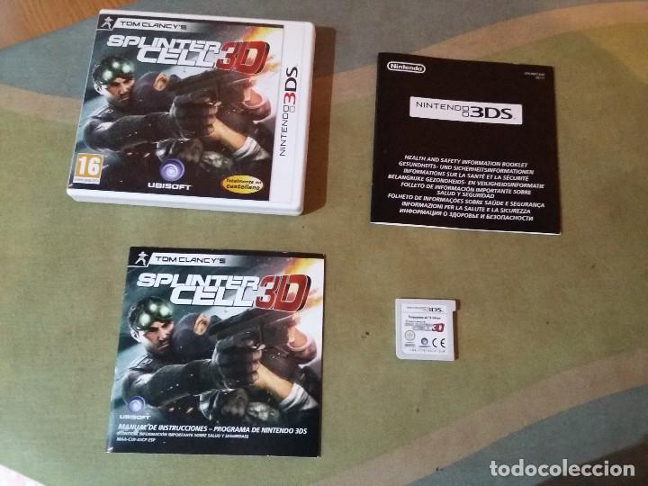 JUEGO NINTENDO 3DS - SPLINTER CELL 3D (Juguetes - Videojuegos y Consolas - Nintendo - 3DS)
