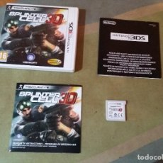 Videojuegos y Consolas: JUEGO NINTENDO 3DS - SPLINTER CELL 3D (PORTES GRATIS). Lote 76548343