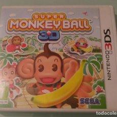 Videojuegos y Consolas: SUPER MONKEYBALL 3D PARA 3DS EN ESPAÑOL COMPLETO. Lote 81719180