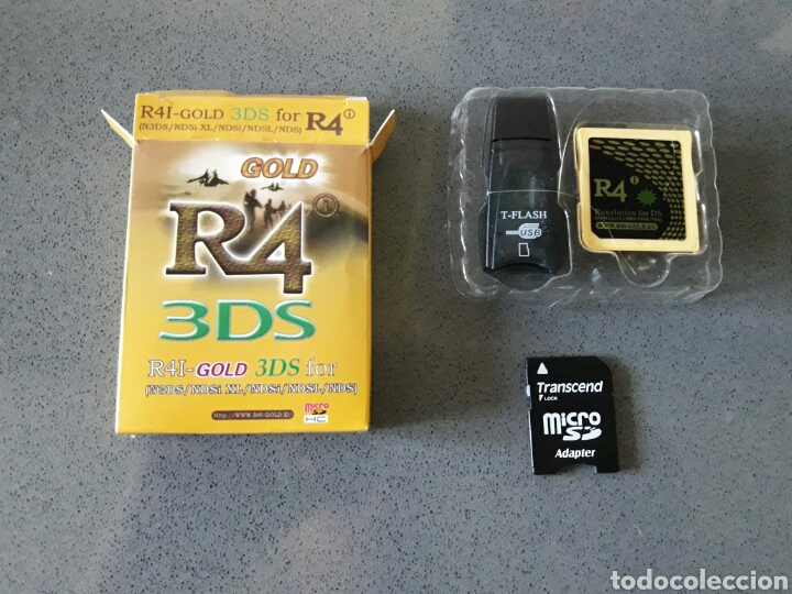 R4 gold 3ds todas ds - Sold through Direct Sale - 86407154