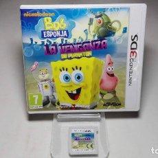 Videojuegos y Consolas: BOB ESPONJA - LA VENGANZA DE PLANKTON ( NINTENDO 2DS - 3DS ) . Lote 94790215