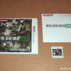 Videojuegos y Consolas: METAL GEAR SOLID : SNAKE EATER 3D PARA NINTENDO 3DS, PAL. Lote 95177343