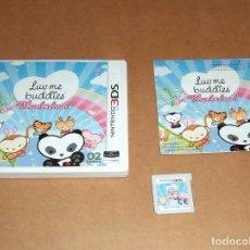 Videojuegos y Consolas: LUV ME BUDDIES WONDERLAND PARA NINTENDO 3DS, PAL. Lote 95177439