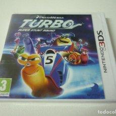 Videojuegos y Consolas: TURBO SUPER STUNT SQUAD NINTENDO 3DS (PRECINTADO). Lote 95544003