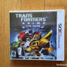 Videojuegos y Consolas: JUEGO TRANSFORMERS PRIME THE GAME, COMPLETO, MADE IN JAPAN. Lote 95727875