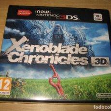 Videojuegos y Consolas: XENOBLADE CHRONICLES 3D NEW NINTENDO 3DS PAL ESPAÑA PRECINTADO. Lote 96694607