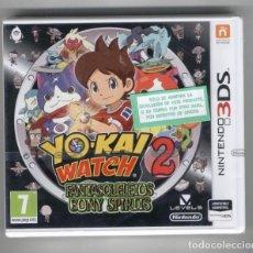 Videojuegos y Consolas: YOKAI WATCH 2 - FANTASQUELETOS BONY SPIRITS - 3DS Y 2DS. Lote 97553139
