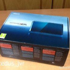 Videojuegos y Consolas: CONSOLA NINTENDO 3DS AQUA BLUE AZUL COMPLETA CON CAJA E INSTRUCCIONES EN EXCELENTE ESTADO. Lote 98250023