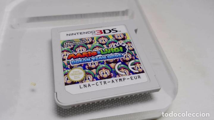 Mario Luigi Dream Team Bros Nintendo 2ds Sold Through