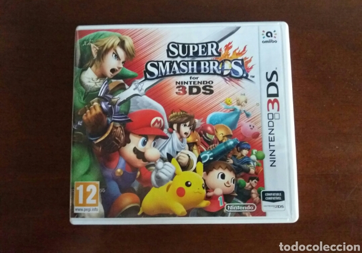 SUPER SMASH BROS NINTENDO 3DS (Juguetes - Videojuegos y Consolas - Nintendo - 3DS)