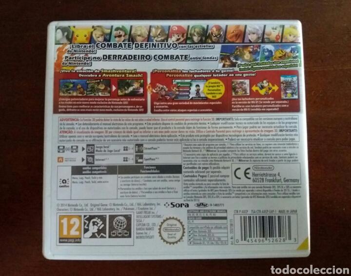 Videojuegos y Consolas: SUPER SMASH BROS NINTENDO 3DS - Foto 3 - 101744164