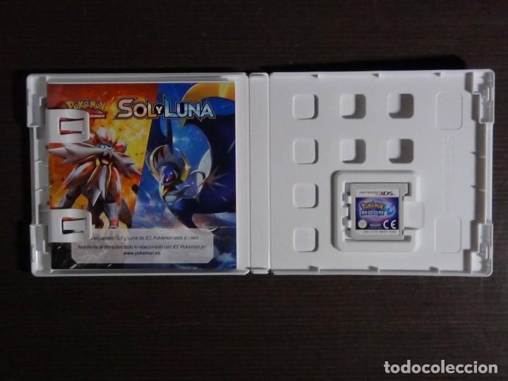 Videojuegos y Consolas: Juego POKEMON LUNA 3DS - COMPLETO - VERSIÓN ESPAÑOLA - Foto 2 - 101783235