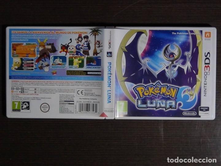 Videojuegos y Consolas: Juego POKEMON LUNA 3DS - COMPLETO - VERSIÓN ESPAÑOLA - Foto 3 - 101783235