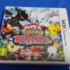 Videojuegos y Consolas: NINTENDO 3DS SUPER POKEMON RUMBLE. Lote 102959174