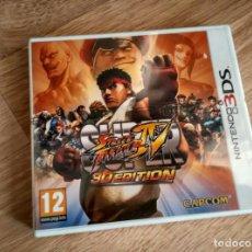 Videojuegos y Consolas: NINTENDO 3DS SUPER STREET FIGHTER 3D EDITION NUEVO VERSIÓN ESPAÑOLA. Lote 106067491