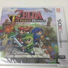 Videojuegos y Consolas: THE LEGEND OF ZELDA TRI FORCE HEROES. Lote 154773300