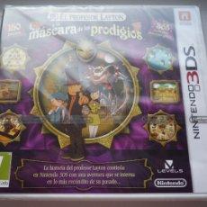 Videojuegos y Consolas: EL PROFESOR LAYTON Y LA MÁSCARA DE LOS PRODIGIOS NINTENDO 3DS (PRECINTADO). Lote 109059388