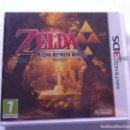 Videojuegos y Consolas: THE LEGEND OF ZELDA: A LINK BETWEEN WORLDS NINTENDO 3DS PAL ESPAÑA. Lote 160465125