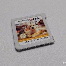 Videojuegos y Consolas: NINTENDOGS + CATS ( GOLDEN RETRIEVER) ( NINTENDO 2DS - 3DS) JC . Lote 108410547
