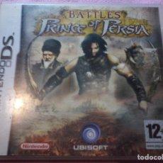 Videojuegos y Consolas: JUEGO NINTENDO D S BATTLES PRINCE OF PERSIA. Lote 109052719