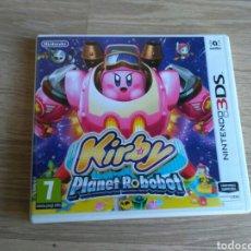 Videojuegos y Consolas: NINTENDO 3DS KIRBY PLANET ROBOBOT NUEVO. Lote 109576926