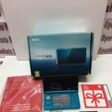 Videojuegos y Consolas: NINTENDO 3DS AZUL EN CAJA. Lote 109736390