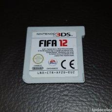 Videojuegos y Consolas: JUEGO NINTENDO 3DS FIFA 12. Lote 111296928