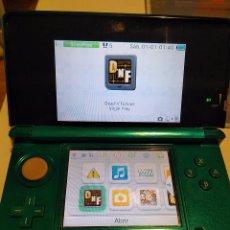Videojuegos y Consolas: CONSOLA NINTENDO 3DS DS VERDE PANTALLA TÁCTIL FALLA. Lote 111419631