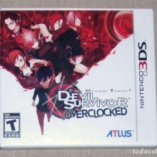 Shin Megami Tensei: Devil Survivor Overclocked, PRECINTADO NTSC USA -3DS-