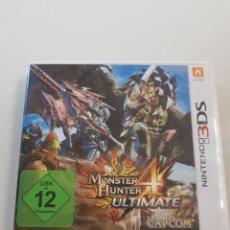 Videojuegos y Consolas: JUEGO NINTENDO 3DS MONSTER HUNTER ULTIMATE 4. Lote 113940296