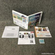 Videojuegos y Consolas: MIITOPIA·3DS. Lote 114135139