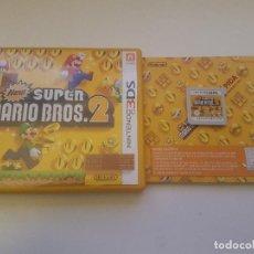 Videojuegos y Consolas: NEW SUPER MARIO BROS NINTENDO 3DS COMPLETO PAL ESPAÑA. Lote 114487519