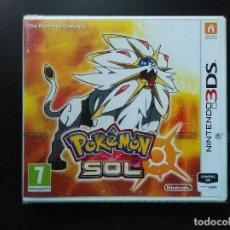 Videojuegos y Consolas: POKÉMON SOL – NINTENDO 3DS – PRECINTADO (NUEVO A ESTRENAR). Lote 114608291