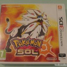 Videojuegos y Consolas: POKEMON SOL PARA NINTENDO 3DS 2DS EN ESPAÑOL COMPLETO. Lote 114647103