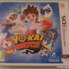 Videojuegos y Consolas: YOKAI WATCH PARA NINTENDO 3DS 2DS EN ESPAÑOL COMPLETO. Lote 114652067