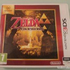 Videojuegos y Consolas: ZELDA A LINK BETWEEN WORLDS PARA NINTENDO 3DS 2DS EN ESPAÑOL COMPLETO. Lote 114654819