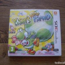 Videojuegos y Consolas: YOSHI'S NEW ISLAND - 3DS - NUEVO - EDICION ESPAÑA . Lote 115167243